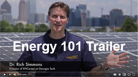 "Screen Capture of EPICenter's ""Energy 101"" trailer video featuring Rich Simmons."